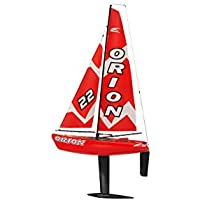 Amewi 26058 Orion sailing boat, 46,5 cm/2.4GHz – red - Compare prices on radiocontrollers.eu