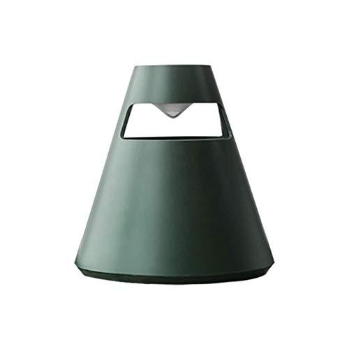 Andouy Insektenvernichter, Elektrischer LED-Licht Insektenvernichter UV Insektenfalle Mückenschutzlampe(16.2x16.2×17.5cm.Grün)