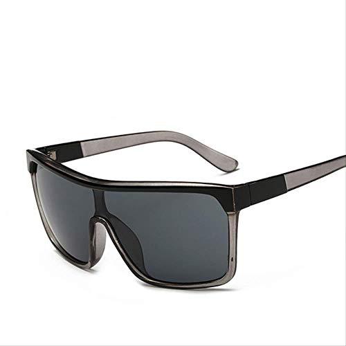 MJDL Square Shield Sonnenbrille Männer Fahren 2017 Männliche Luxusmarke Sonnenbrille Für Männer Designer Cool Shades Spiegel Retro Cjxy802 C1 Grau