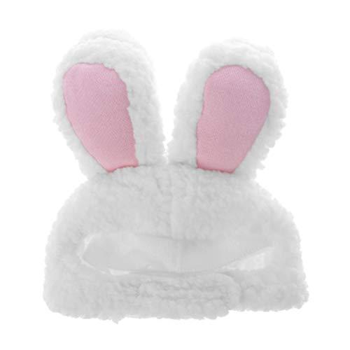 POPETPOP Häschenohren Hut für Katze Ostern Kostüm Welpen Outfit für Hund Ostern Party Cosplay ()