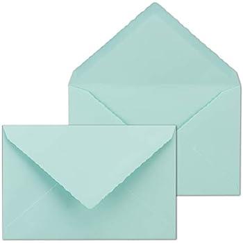 transparentes 50 Umschl/äge 19-Hellblau Neuser Enveloppes color/ées C5/229/x/162/mm avec fermeture adh/ésive