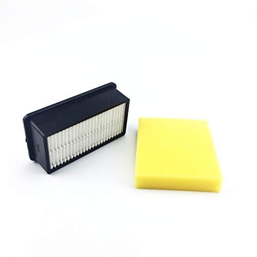ToDIDAF Staubsauger-Zubehör, Ersatzteile für Kehrroboter, 1 Stück Filter + 1 Stück Filter Baumwolle für BISSELL Style 1008 CleanView Handstaubsauger