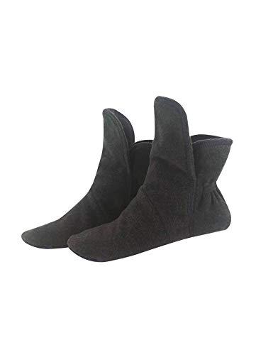 RAIKOU Hausschuhe für Damen, Herren aus Micro Fleece mit ABS und Rutschfester Sohle in versch,Super Flauschige Hüttenschuche (43-46, Zinn)