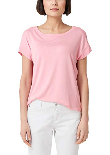 s.Oliver Damen 04.899.32.5098 T-Shirt, Rosa (Rose 4145), 34 - 5 Damen Rosa T-shirt