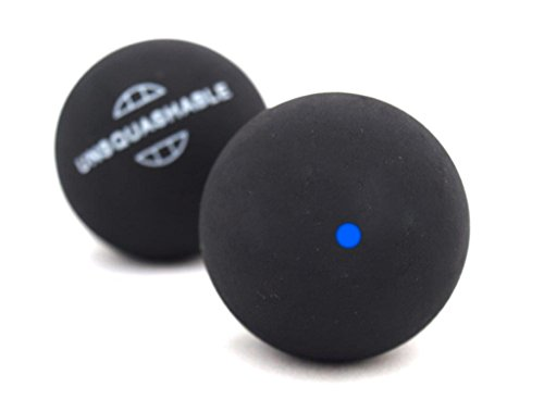 Unsquahable Squashbälle, 2er Pack, Geschwindigkeit Blau / Schnell, 382211