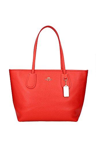 coach-borsa-shopper-donna-chiusura-con-zip-tasca-interna-rosso-female