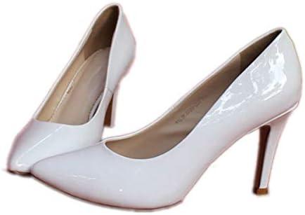 KOKQSX-ha testa tacco tacco tacco alto 8cm scarpe superficiale bocca. 35 bianca B07HDYW54L Parent | Lascia che i nostri beni escano nel mondo  | Prestazioni Superiori  0f969c