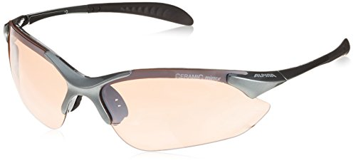 ALPINA Sonnenbrille TRI-QUATOX Outdoorsport-Brille, Tin, One Size
