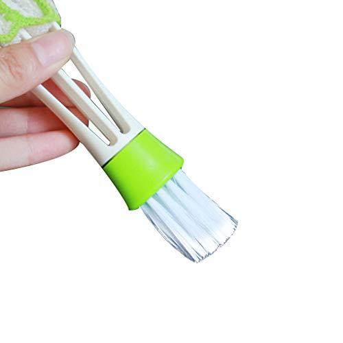 Coche de vehículo Aire Acondicionado Outlet Cepillo de Limpieza del Teclado a Prueba de Polvo del Tablero de Instrumentos Poratable Cepillo Regard