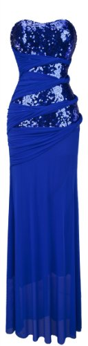 angel-fashions-damen-tragerlosen-sweetheart-pailletten-blau-netz-drapierungen-abendkleid-medium