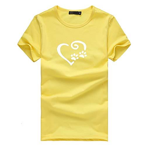 (One Damen Shirt Langarm Gelb Damen Shirt Langarm Blumen Damen Shirt Sexy Damen Shirt)