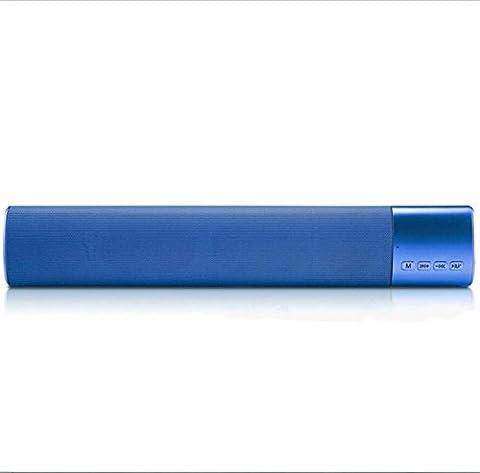 FSOSOO Wireless Bluetooth Lautsprecher Mini Sound Banner High-End Geschenk Stereo Dual Speaker Subwoofer Desktop Lautsprecher , (Kreative Ipod Speaker)