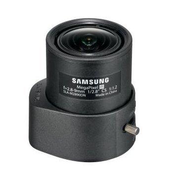 SLA M2890PN SS425 SAMSUNG-CCTV-KAMERA-OBJEKTIV, 1/7.11 CM, CS-HALTERUNG, 3-MEGAPIXEL-KAMERA MIT VARIOFOKUS, 9 MM MIT 2.8- P-IRIS AUTO F1.2 Auto-iris-security-kamera