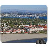 Hotel del Coronado Aerial View Mouse Pad, Mousepad (Modern Mouse Pad)