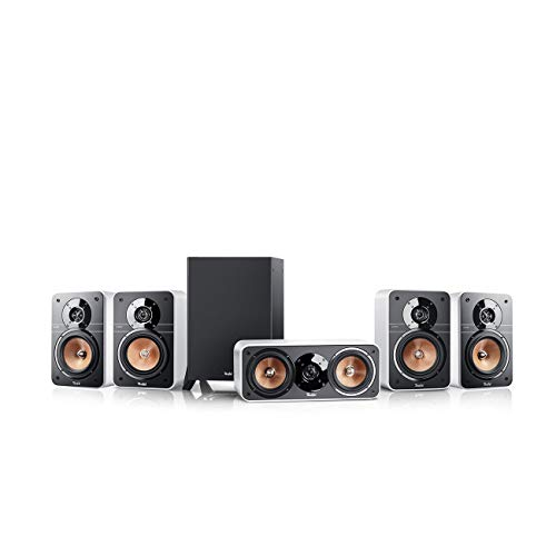 Teufel Ultima 20 Surround 5.1-Set Weiß Heimkino Lautsprecher 5.1 Soundanlage Kino Raumklang Surround Subwoofer Movie High-End HiFi Speaker