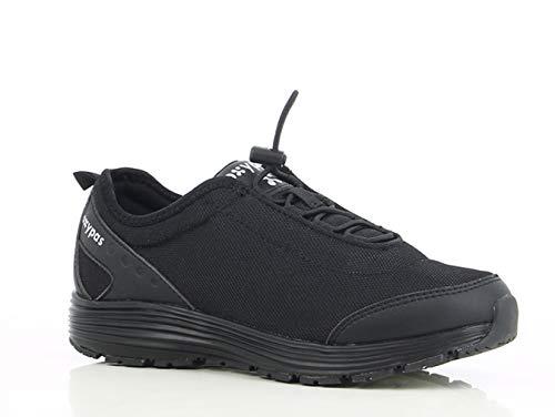 Oxypas Oxypas Maud SRA Damen Arbeits- und Sicherheitsschuhe | Sneaker, Farbe: Schwarz, Größe: 36
