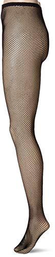 Leg Avenue 1404Q - Plus Größe Fischnetz Strümpfhosen Mit Offener Zwickel, Dessous Damen Reizwäsche