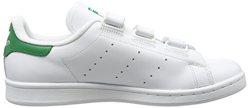 adidas Stan Smith Cf, Baskets Basses Homme Blanc (Ftwr White/Ftwr White/Green)