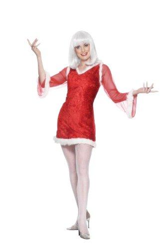 laus Damen Faschingskostüm (Damen Miss Santa Kostüme)