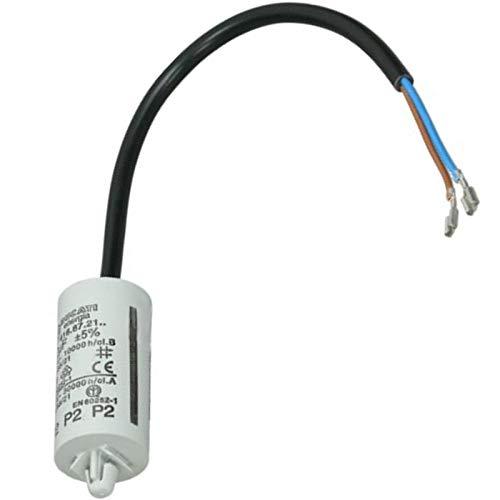 spares2go 2uF Kondensator für Indesit Kühlschrank Gefrierschränke