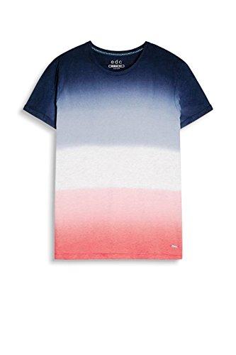 edc by ESPRIT Herren T-Shirt 057cc2k006 Blau (Navy 2 401)