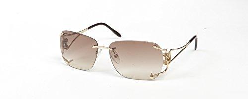 boucheron-damen-sonnenbrille-gold-gold