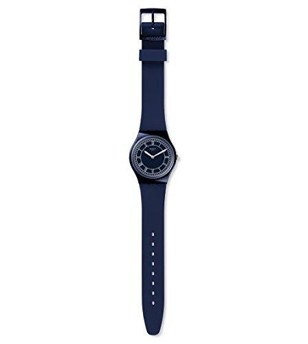 Swatch Armbanduhr in Unisexgröße Blue Ben GN254