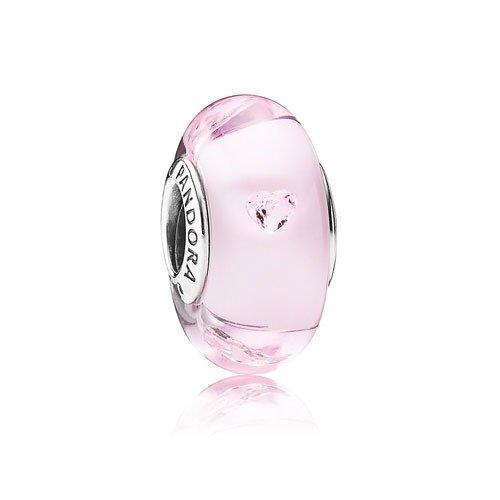 Pandora Charm Herzens-Murano-Glas