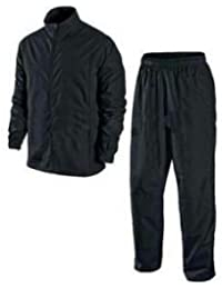 Benjoy Men Pvc Bike Water Proof Rain Suit With Hood-Black(Raincoat003_Black_ Free Size)