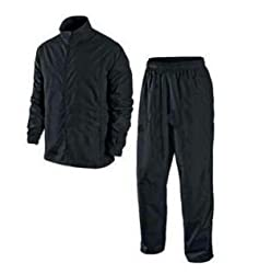 Zacharias Men zach-boy-blk-raincoat-L Black Raincoat (Black_Large)