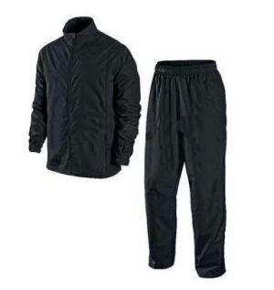 Men Black Raincoat Medium