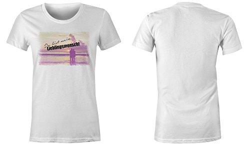 ... Du Bist Mein Lieblingsmensch 3 ☆ Rundhals-T-Shirt Frauen-Damen ☆  hochwertig