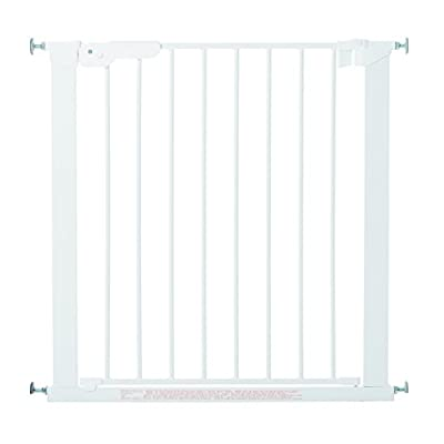 "BabyDan Premier True Pressure Fit Safety Gate (White), Fits Openings from 73.5 cm - 79.6 cm (29""-31.3"")"