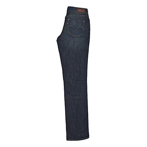 Levis® BOLD CURVE STRAIGHT LEG Jeans in Dunkelblau Blau