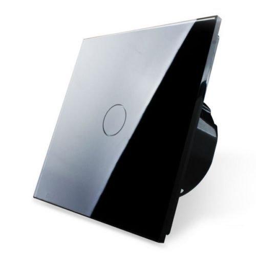 Lichtschalter Glas Touchscreen Wandschalter VL-C301-62 1-Weg Touch Lichtschalter