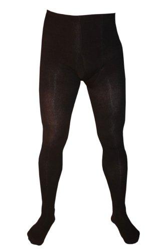 Weri Spezials Herrenunterhose  lang  mit Eingrif in Schwarz, Gr. 50-52