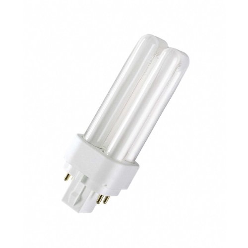 Osram Kompakt-Leuchtstofflampe Dulux D/E 840 G24q-1 coolwhite 13W EEK: A - G24q 1 Leuchtmittel