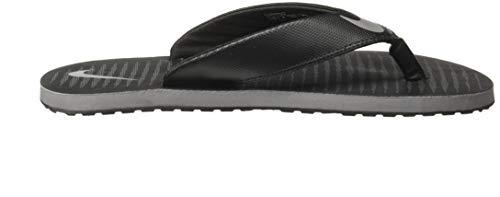 Nike Men's Chroma 5 Blk-CoolGrey Flip Flops Thong Sandals-8 UK (42.5 EU) (9 US) (833808-016)