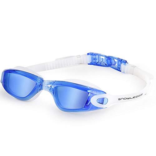 Snowledge Schutzbrillen HD Anti-Fog UV-Schutz Wasserdichte Schwimmbrille Männer und Frauen Schwimmen Ausrüstung