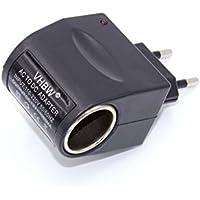 vhbw convertisseur de tension 220 V bloc d'alimentation de 12 V (1.0A) sur allume-cigares.