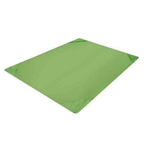 wasserdichte Beach Blanket Multi-Funktions-Outdoor-Picknick-Matte tragbare Falten, schnelltrocknende Ripstop-Strand-Matte Moistureproof Matten für Reisen Camping Wandern Grün