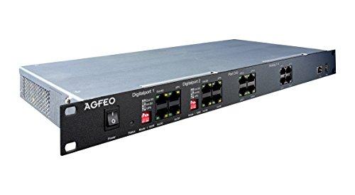 AGFEO ES 628 IT - Hybrid PBX - 1U, 6101419 -