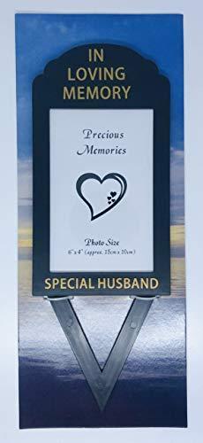 In Loving Memory David Fischhoff Cadre Photo avec Inscription Special Husband » 15,2 x 10,2 cm