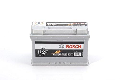 BOSCH S5 007 Batteria auto di avviamento 74ah 750a 12v
