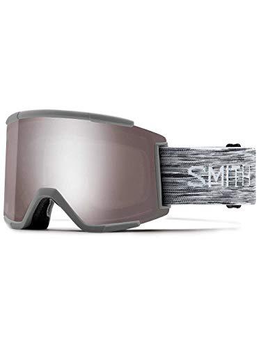 Smith optics squad xl, maschera sci unisex – adulto, cloudgrey/sun platinum mirror, l