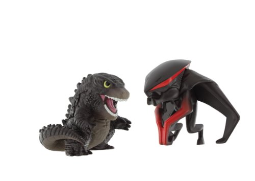 Godzilla Movie 2014 Chibi Godzilla and Muto Figurs Version A - 2 Pack