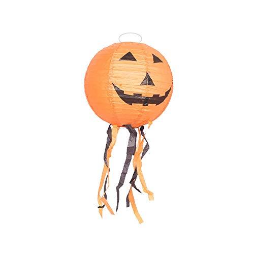 HROIJSL Halloween Kürbislicht Halloween Kürbislicht Halloween Papierlaterne