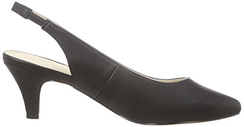 Another Pair of Shoes Paline E1 - Scarpe con Tacco Donna Nero (Black 01)