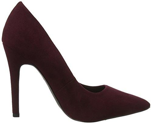 New Look Wide Foot Scooch, Sandales Bride Cheville Femme Purple (Dark Purple)