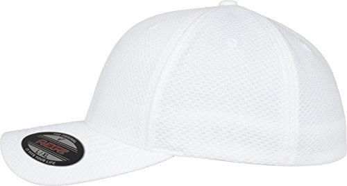 Flexfit 3D Hexagon Jersey Cap Kape white